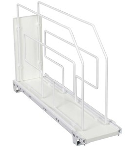 Roll-Out Tray Divider and Storage Rack - 6 Inch Image