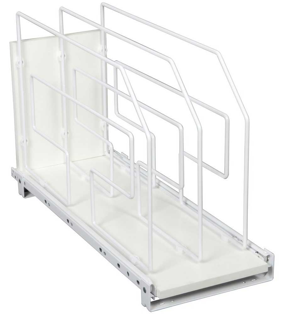 Roll Out Tray Divider And Storage Rack 9 Inch In