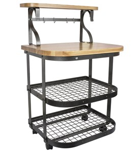 Rolling Kitchen Cart Image