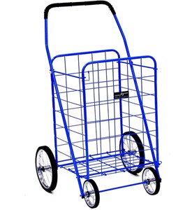 Rolling Shopping Cart - Jumbo Image