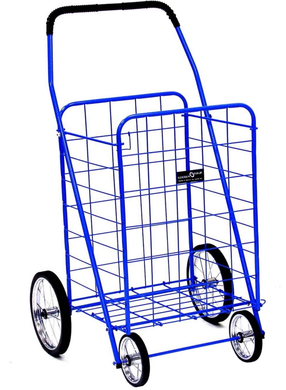 rolling shopping cart jumbo