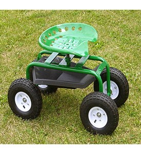 Tractor Style Gardening Seat Image