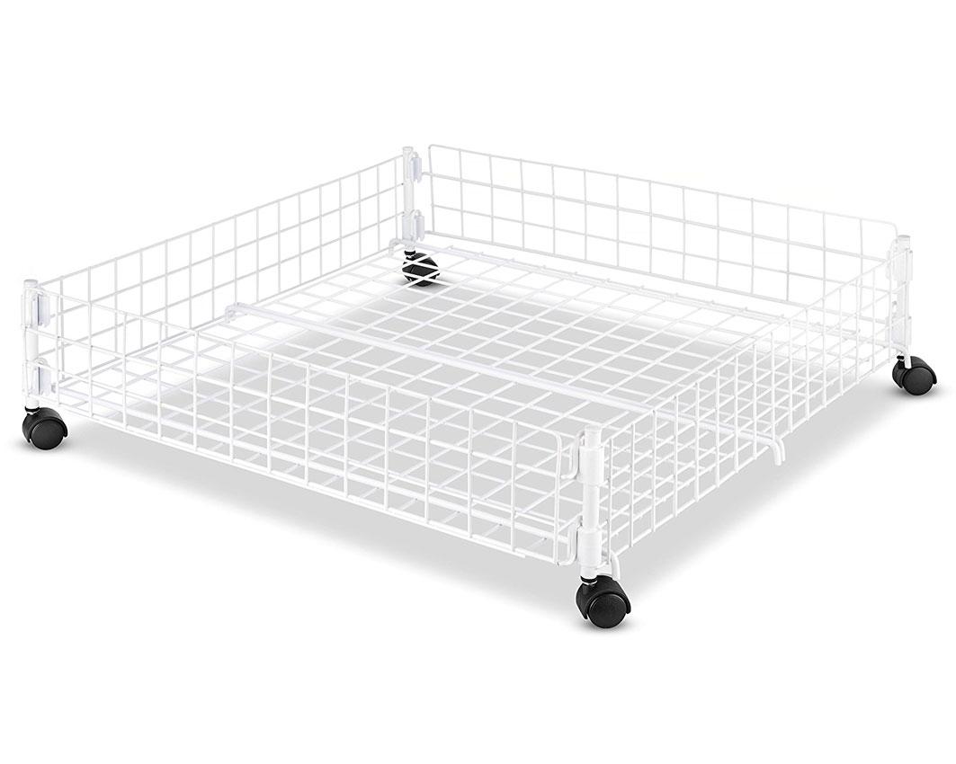 Rolling Underbed Storage In Under Bed Storage