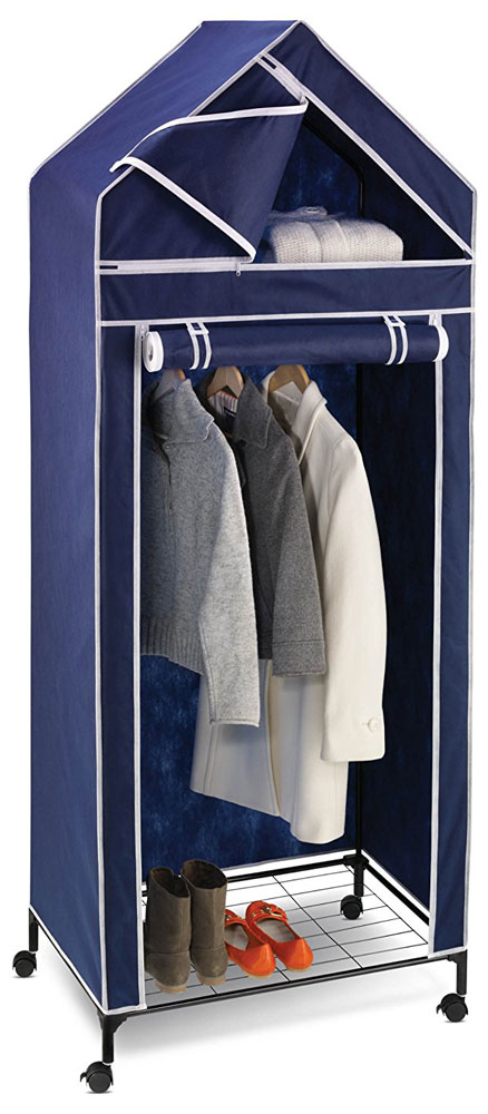 ... Clothes Rack, Rolling Wardrobe Rack