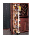 Pantry Roll-Out Storage System