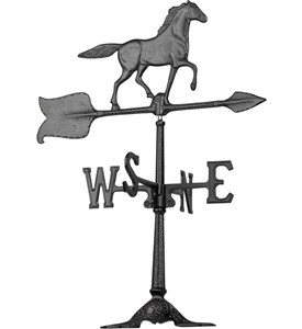 Rooftop Weathervane - Horse Image