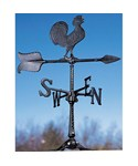 Rooftop Weathervane - Rooster