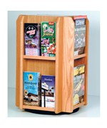 Rotating Magazine Rack - 8 Pocket