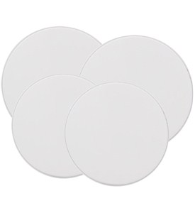 Round Burner Covers - White (Set of 4) Image