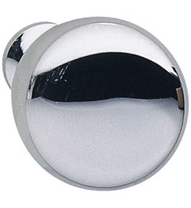 Round Cabinet Knob - Polished Chrome Image