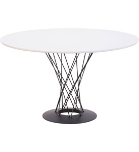 Round Dining Room Table - Spiral Design Image