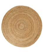 Round Kerala Jute Rug by Anji Mountain