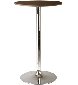 Round Pub Dining Table - Cappuccino Image