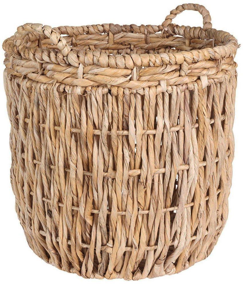 Round Wicker Basket in Wicker Baskets