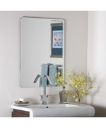 Rounded Edge Frameless Mirror
