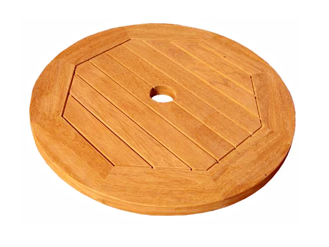 Round Lazy Susan With Umbrella Hole   20 Inch Price: $57.99