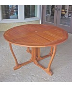 Royal Tahiti Round Gate Leg Table by International Caravan