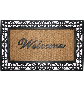 Rubber and Coir Doormat Image