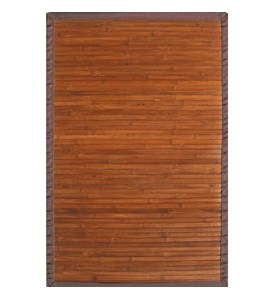 Contemporary Bamboo Rectangle Rug by Anji Mountain Image