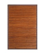 Contemporary Bamboo Rectangle Rug by Anji Mountain