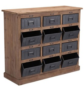 Rustic Storage Cabinet Image