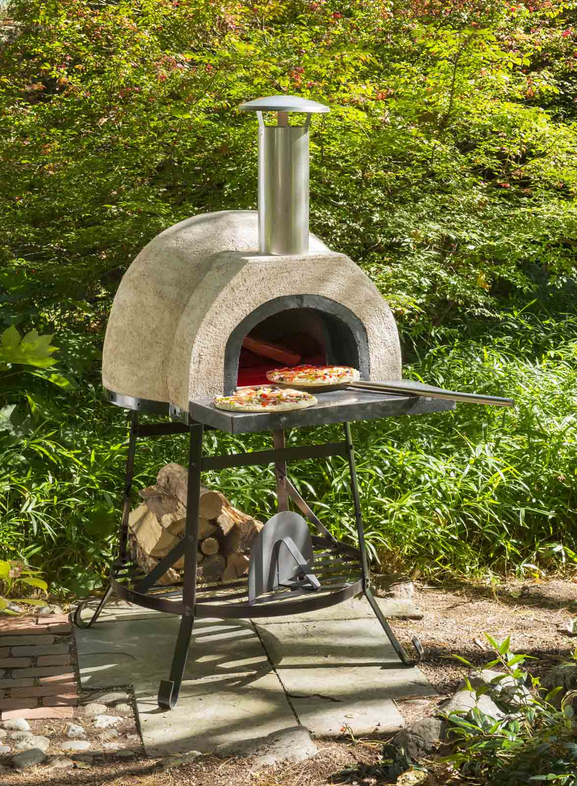 Rustic Wood Fired Oven By Rustic Natural Cedar In Bbq
