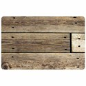 Padded Floor Mat - Rustic Wood