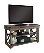 Rustic Wood TV Stand