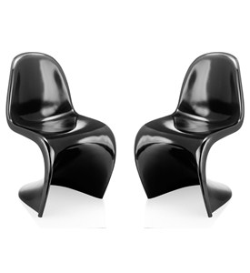S Chair - Set of 2 by Zuo Modern Image