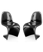 S Chair - Set of 2 by Zuo Modern