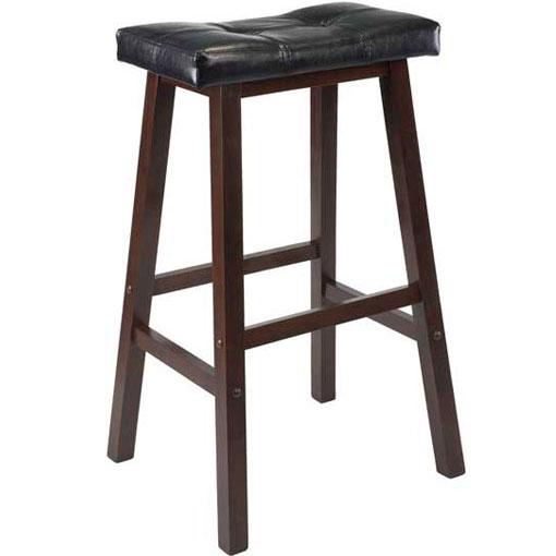Saddle Bar Stool with Cushioned Seat in Saddle Bar Stools : saddle bar stool with cushioned seat from www.organizeit.com size 510 x 510 jpeg 23kB