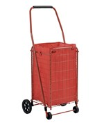 Sandusky 66 lb Folding Shopping Cart