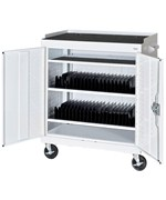 Sandusky Mobile Tablet Storage Cart by Edsal