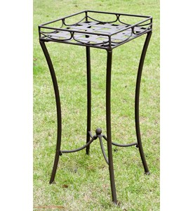 Santa Fe Iron Plant Stand by International Caravan Image