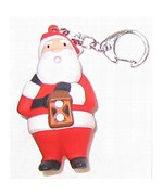 Santa Key Chain and LED Flashlight