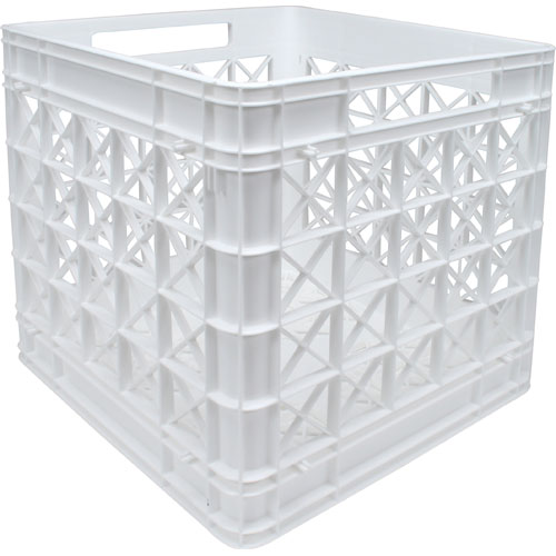 Iris Stackable Plastic Storage Crate White Image
