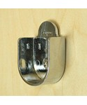 One Inch Round Closet Rod Flanges - Chrome