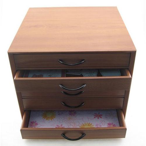 Five Drawer Scrapbook Storage Cabinet In Scrapbook Organizers