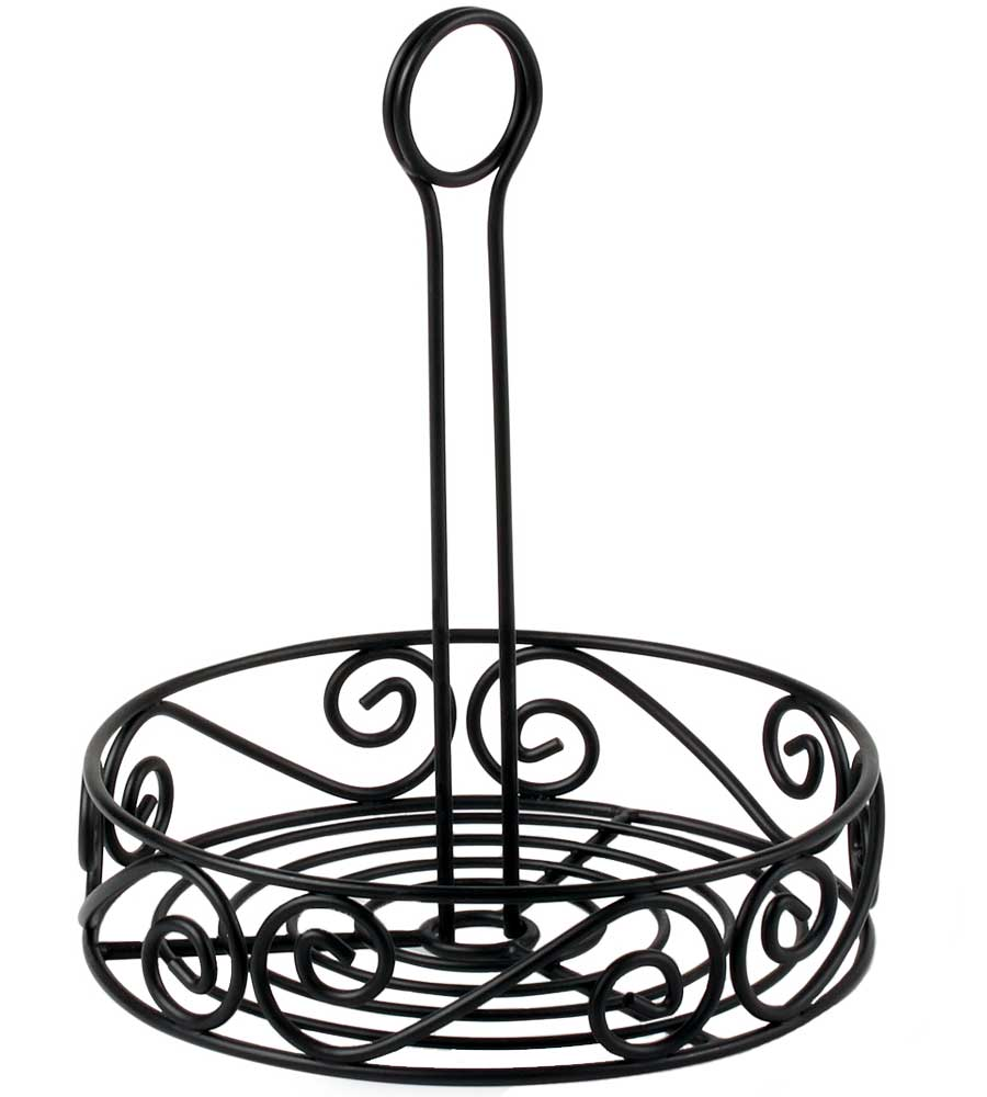 Scroll Tabletop Condiment Caddy Image