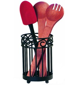 Scroll Utensil Holder Image