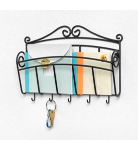 Scroll Letter Holder and Key Rack Image