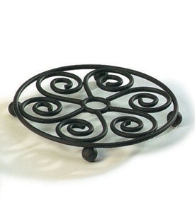 Scroll Steel Trivet Image