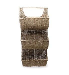 Seagrass Basket - Three-Tiered Image