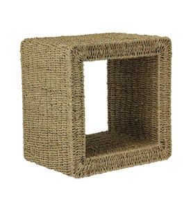 Seagrass Mid Size End Table by Household Essentials Image