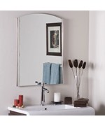 Seasons Frameless Wall Mirror by Decor Wonderland
