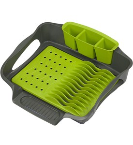 Self Draining Dish Rack Image