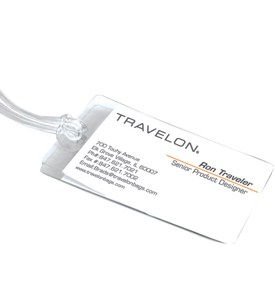Self-Laminating Personal Luggage Tags (Set of 3) Image