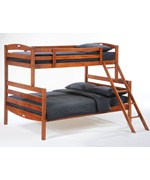 Sesame Twin / Full Bunk Bed - by Night and Day Furniture Online