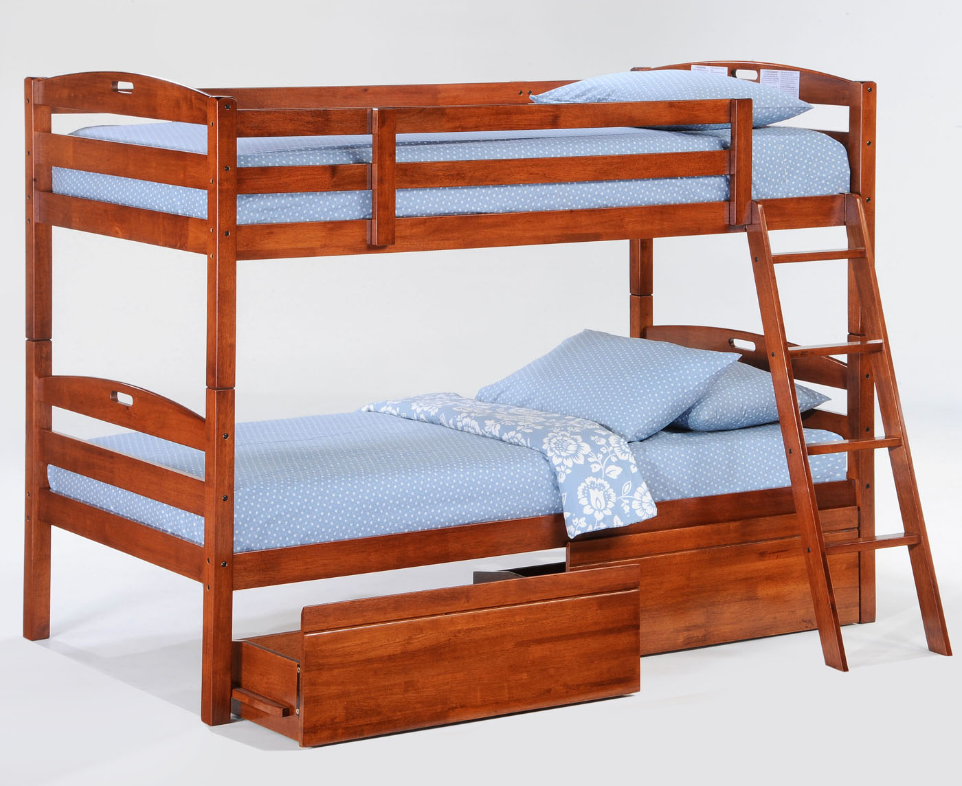 Bunk Beds With Extra High Rails