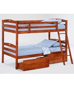 Sesame Twin / Twin Bunk Bed - by Night and Day Furniture Online